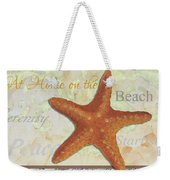 Coastal Decorative Starfish Painting Decorative Art By Megan Duncanson Weekender Tote Bag