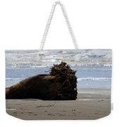 Coastal Driftwood Weekender Tote Bag