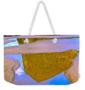 Coastal Landscape In Abstract 2 Weekender Tote Bag