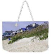 Coastal Living In Topsail Beach Nc Weekender Tote Bag