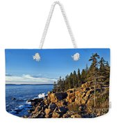 Coastal Maine Landscape. Weekender Tote Bag