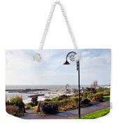 Coastal Overview At Lyme Regis Weekender Tote Bag