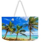 Coastal Palm Trees Weekender Tote Bag