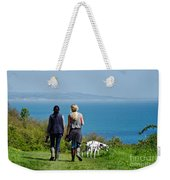 Coastal Path Walk Weekender Tote Bag