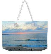 Coastal Ribbon Candy Weekender Tote Bag