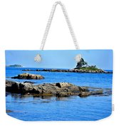 Coastal Route 1 In Maine Weekender Tote Bag