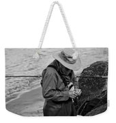 Coastal Salmon Fishing Weekender Tote Bag