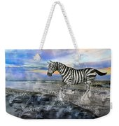 Coastal Stripes I Weekender Tote Bag by Betsy Knapp
