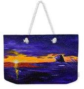 Coastal Sunset Weekender Tote Bag