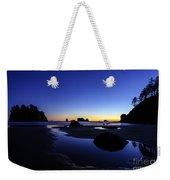 Coastal Sunset Skies Reflection Weekender Tote Bag