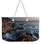 Coastal Tranquility Weekender Tote Bag by Mike Reid