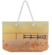 Coastal Winter Weekender Tote Bag