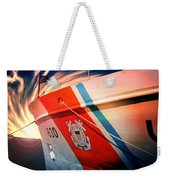 Coast Guard Uscg Alert Wmec-630 Weekender Tote Bag by Aaron Berg