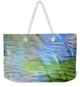 Coastline Mosaic Abstract Art Weekender Tote Bag by Christina Rollo