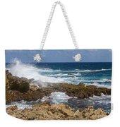 Coastline Surge Weekender Tote Bag