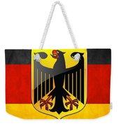 Coat Of Arms And Flag Of Germany Weekender Tote Bag