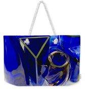Cobalt Therapy Weekender Tote Bag