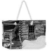 Slayton Pasture Cobber Cabin Trapp Family Lodge Stowe Vermont Weekender Tote Bag