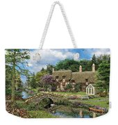 Cobble Walk Cottage Weekender Tote Bag