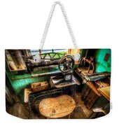 Cobblers Sewing Machine Weekender Tote Bag