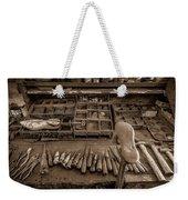 Cobblers Tools Bw Weekender Tote Bag