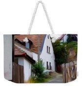 Cobblestone Road Weekender Tote Bag