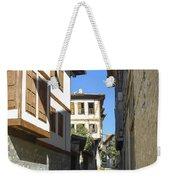 Cobblestone Village Street Weekender Tote Bag