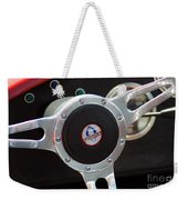 Cobra Steering Wheel Weekender Tote Bag