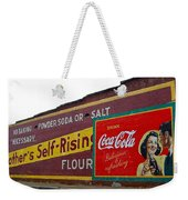 Coca Cola Advertisement Weekender Tote Bag