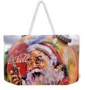 Coca Cola Christmas Bulbs Weekender Tote Bag