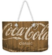 Coca Cola Classic Barn Weekender Tote Bag