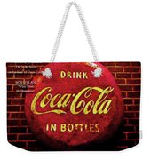 Coca Cola Dylan Quote Weekender Tote Bag