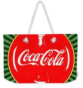 Coca Cola Pop Art  Weekender Tote Bag