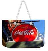 Coca Cola Sign In Georgia Weekender Tote Bag