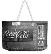 Coca-cola Sign Weekender Tote Bag