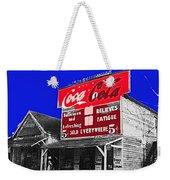 Coca-cola  Sign Palace Cafe Sumter South Carolina 1912-2013   Weekender Tote Bag