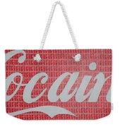 Cocaine Weekender Tote Bag