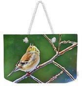 Cock-a-doodle Doo Gold Finch - Digital Paint Weekender Tote Bag