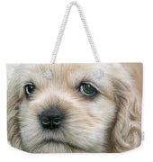 Cocker Pup Portrait Weekender Tote Bag