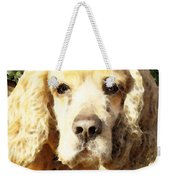 Cocker Spaniel Art - Mellow Yellow Weekender Tote Bag