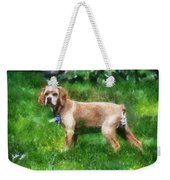 Cocker Spaniel Outside 07 Weekender Tote Bag