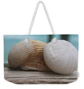 Cockle And Sea Urchin Weekender Tote Bag