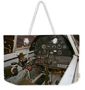 Cockpit Of A P-40e Warhawk Weekender Tote Bag