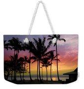 Coconut Island Sunset - Hawaii Weekender Tote Bag