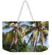 Coconut Palm Trees In Key West Weekender Tote Bag