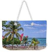 Coconut Tree Weekender Tote Bag