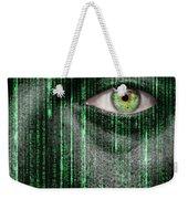 Code Breaker Weekender Tote Bag