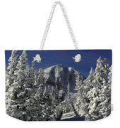Cody Peak After A Snow Weekender Tote Bag
