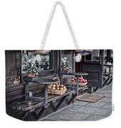 Coffe Shop Cafe Weekender Tote Bag