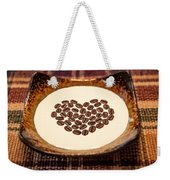 Coffee And Cream Weekender Tote Bag